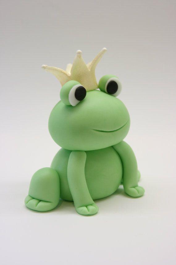 Fondant frog :-) love