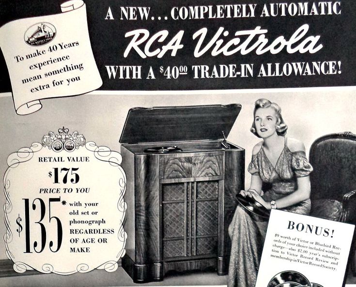1938 Original RCA Victrola Print Ad Poster, Rca Phonograph, Rca Radio, Art Deco Print, Art Deco Poster, Vintage  Print, Shop Decor,  11x14 by MushkaVintage3 on Etsy