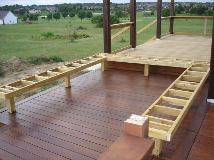 25 Best Handrail Ideas On Pinterest: The 25+ Best Deck Benches Ideas On Pinterest