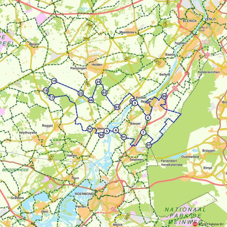 Fietsroute: Reuver, Ophovense Zandberg en Keuperheide  (http://www.route.nl/fietsroutes/149430/Reuver-Ophovense-Zandberg-en-Keuperheide/)