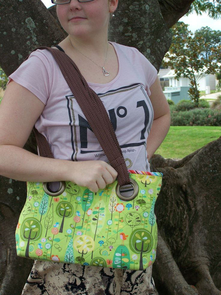 Another bag in my fave design, this time in a woodlands print