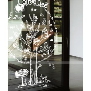 Coffee Tree Wall Sticker
