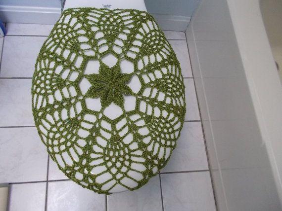 Cubierta de asiento de inodoro o Crochet inodoro tapa por ytang
