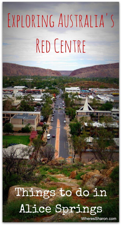 Exploring Australia's red centre in Alice Springs