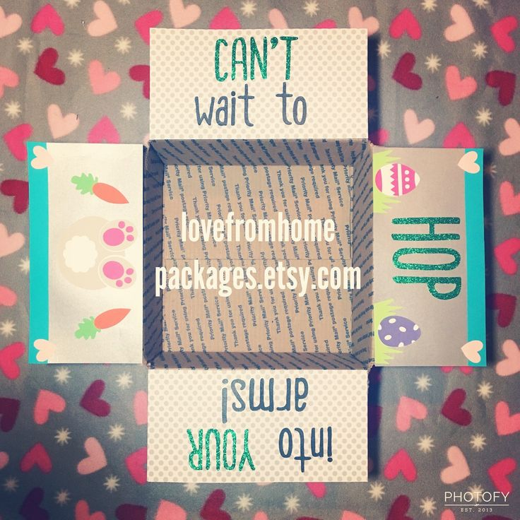 481 best care packages military images on pinterest long cant wait to hop into your arms easter long distance military care package kit negle Images