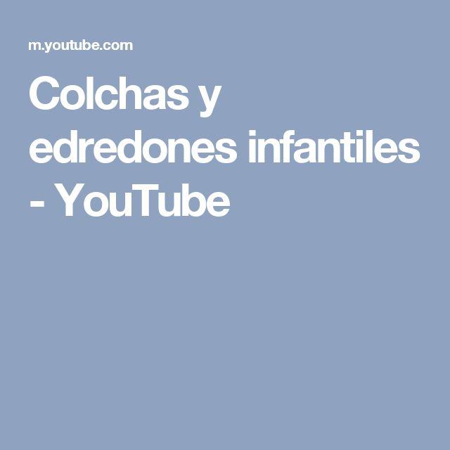 Colchas y edredones infantiles - YouTube