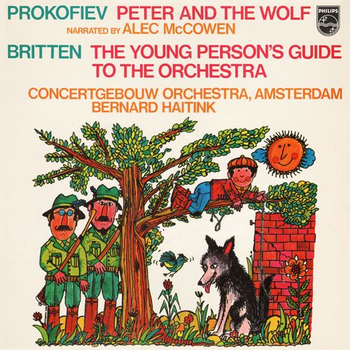 Peter and the Wolf: Alec McCowen (Philips)