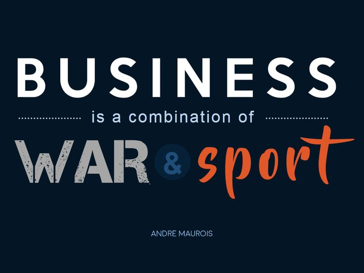Quote on Business