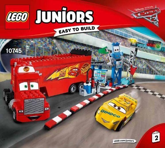 Lego 10745 4 Juniors Florida 500 Final Race Lego Juniors Lego Racing