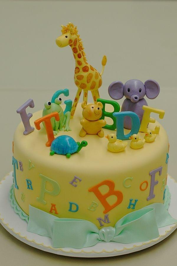 ABC and jungle cake Birthday ideas Pinterest Jungle ...