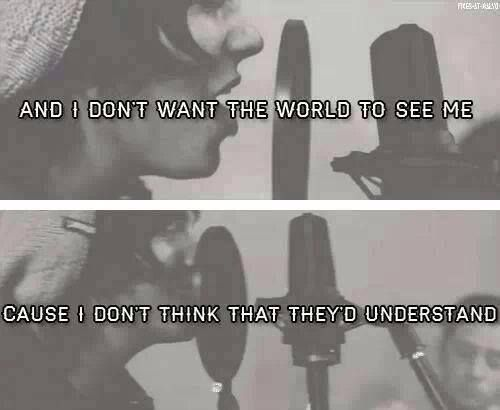 Iris - Sleeping With Sirens. This song makes me want to cry :'(