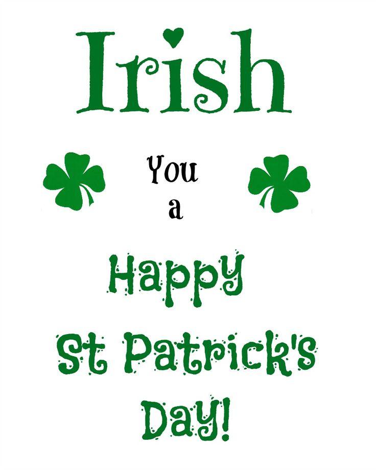 St. Patrick's Day Free Printable - virginiasweetpea.com