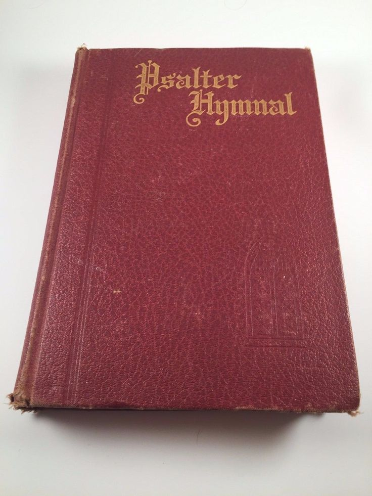 Christian Reformed Church Psalter Hymnal 1934 Doctrinal Standards & Liturgy Book