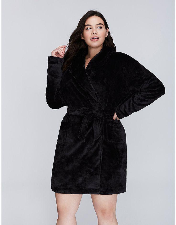 Plush Robe by Cacique | Lane Bryant