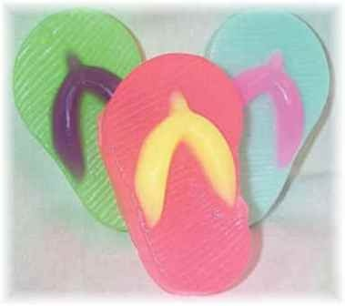 Flip Flop Soaps made for Guests!