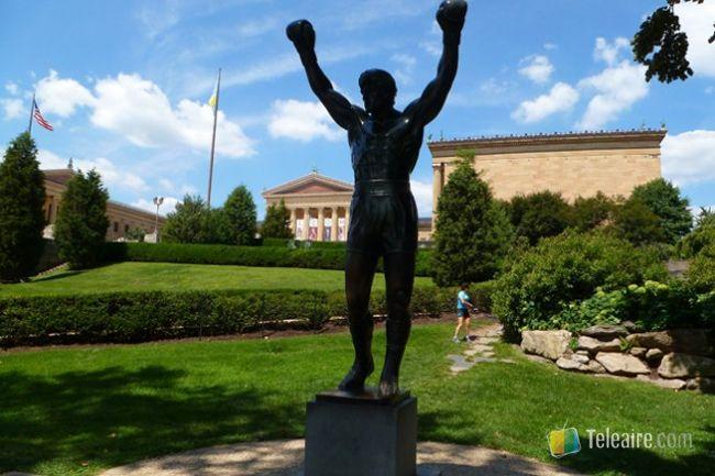 Rocky Balboa en Filadelfia