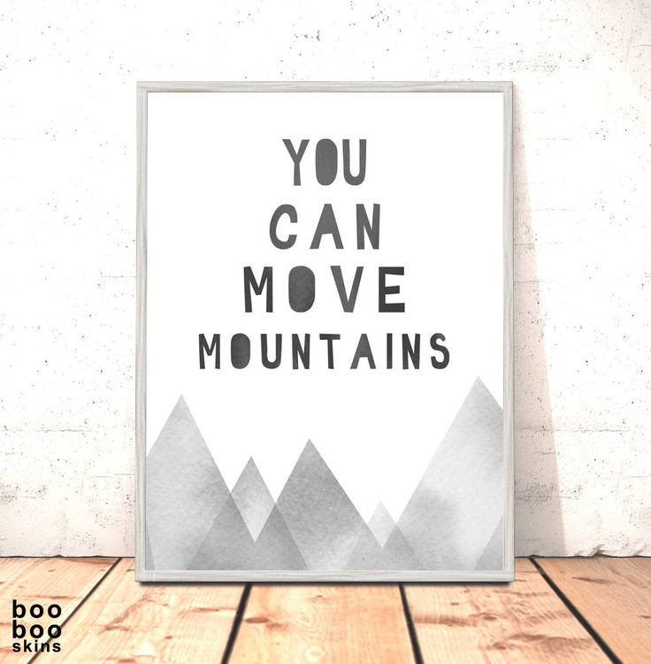 You Can Move Mountains Print Monochrome Tribal Nursery Art for Boys Room Nordic Woodland Nursery Art Scandi Nursery Art Grey Dr Zeuss Art by boobooskins on Etsy #cute #nursery #art #print #mountains #papercut #watercolour #mixedmedia #nature #native #indian #tribal #totem #woodland #forest #canada #nursery #decor #newbaby #kids #boysroom #kidsroom #scandi #scandinavian #modern #monochrome #grey