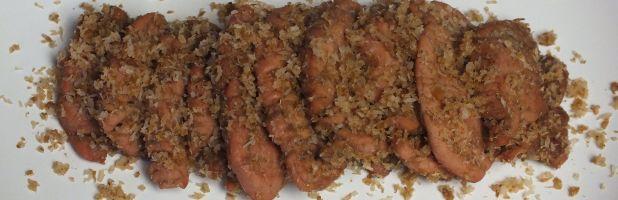 Dendeng ragi (van varkenshaas) - Kokkie Slomo - Indische recepten