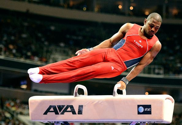 John Orozco will compete for the USA gymnastics team in London.
