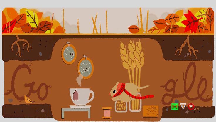 Il doodle animato di Google per celebrare il primo giorno d'autunno - ww...