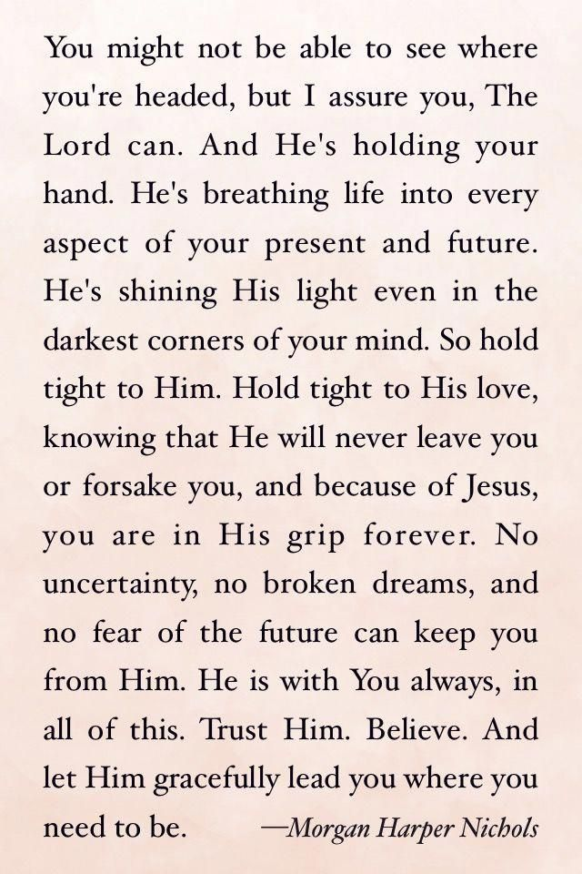 Gods Plan For You For The Future Faith Believing Trust