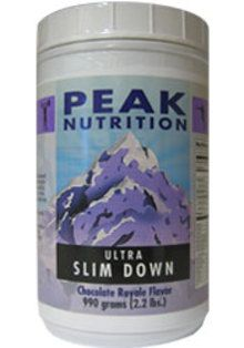 Ultra Slim Down - Chocolate - 2.2 lbs. http://www.tripleclicks.com/13322422/detail.php?item=5742