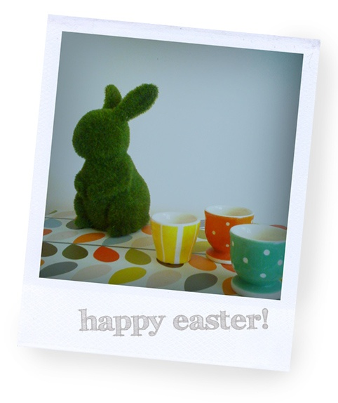 Enjoy your easter break! | The Red Thread FREEDOM bunny