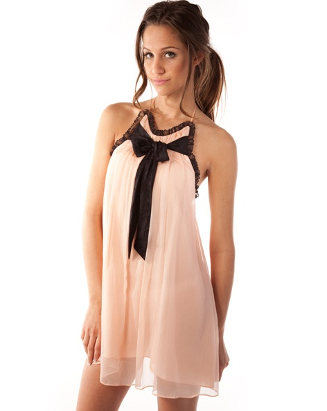 Cute little pink dress by Whitney Eve (yep, Whitney from The Hills!)
