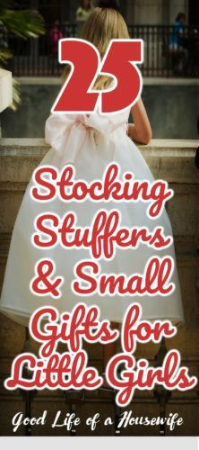 25 Stocking Stuffers for Little Girls