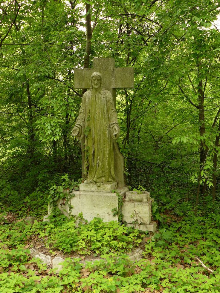"""Kerepesi Cemetary: (""""Fiume Road National Graveyard"""") is the most famous cemetery in Budapest. It is one of the oldest cemeteries in Hungary which has been almost completely preserved.  This photo is of a still abandoned area in the cemetery."""