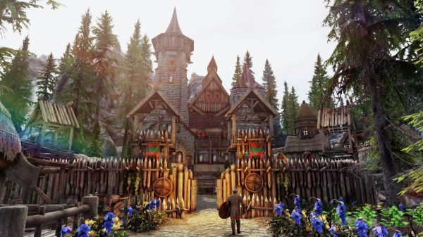 Lc Build Your Noble House At Skyrim Nexus Mods And Community In 2020 Noble House Skyrim House Building