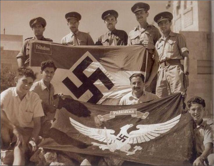Nazi Palestina Palestinian Nazis