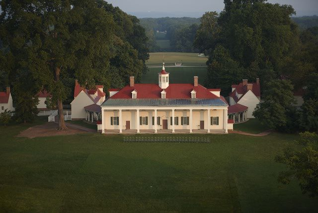 I love visiting Mount Vernon, the Home of George Washington, and seeing the historic property where our first president and his family lived.