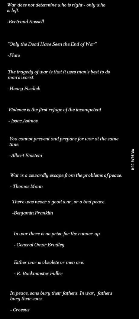 Epic quotes about war