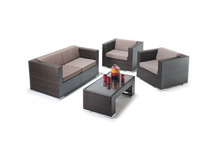 Mendoza Rattan Garden Sofa Set