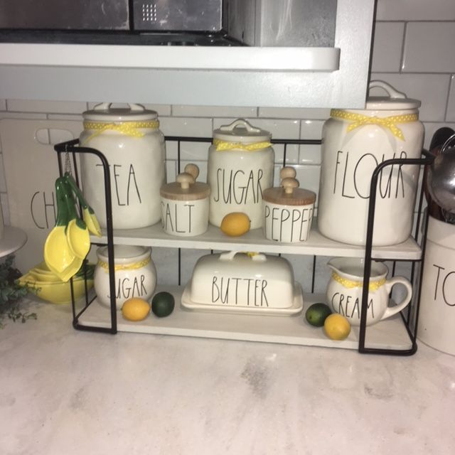 The Infamous Hobby Lobby Shelf With Lemon Decor Hobby Lobby