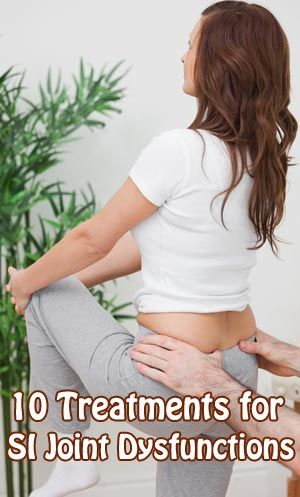 10 Treatments for SI Joint Dysfunctions The #sacroiliac_joints, SI joints are tiny links that connect the spine to the lower back and pelvic bones. They allow a minimal amount of movement and serve as a shock absorber for the #spine.