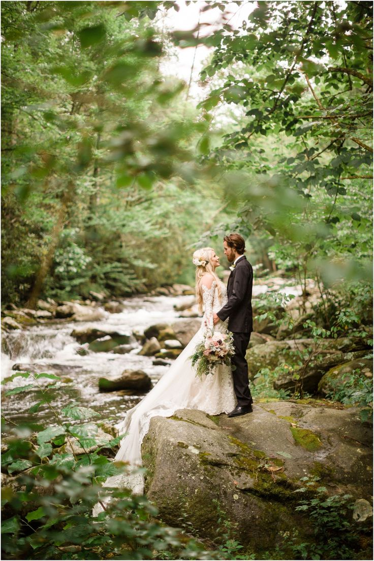 Smoky mountain tn wedding