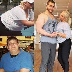#igfitcouple @Mariaericsdotter @fat_meets_fire @prime8nutritions #transformation… hard work pays off