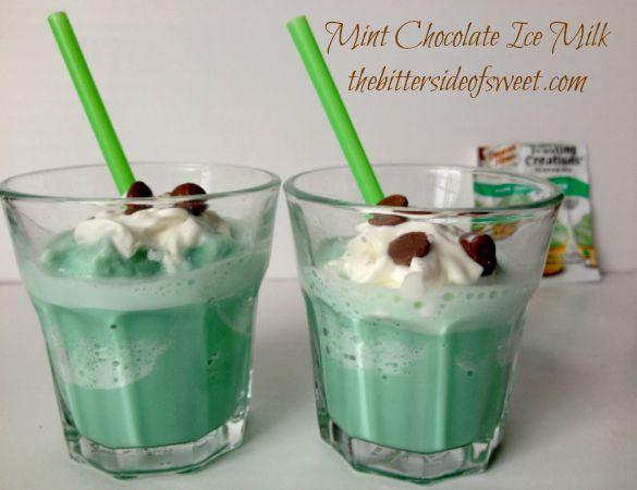Mint Chocolate Ice Milk