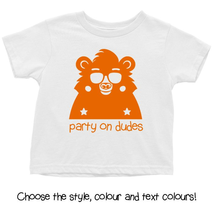 Party On Dudes Baby T Shirt, Hoodie or Onesie