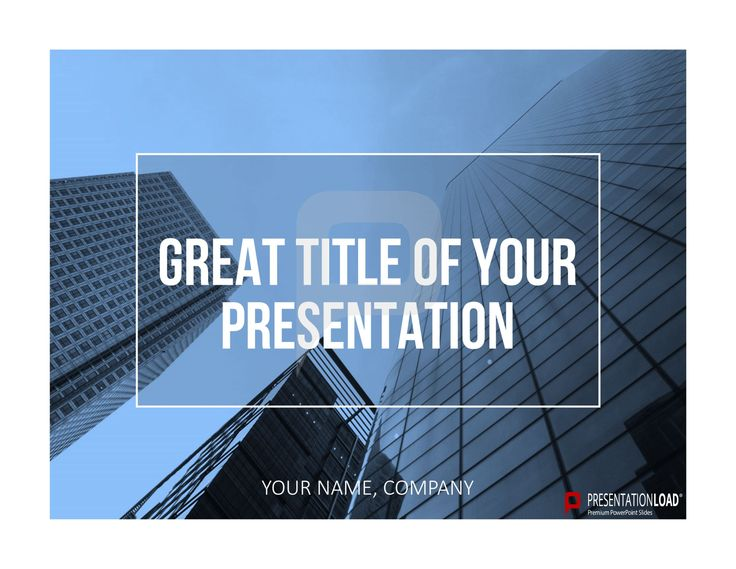 PowerPoint presentations can be very effective if you work with impressive pictures like mountain top, lakes, forest or skylines. http://www.presentationload.com/powerpoint-title-slides.html