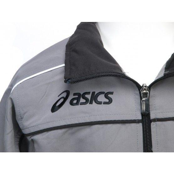 ASICS SUIT AMERICA melegítő szürke,fekete unisex XL