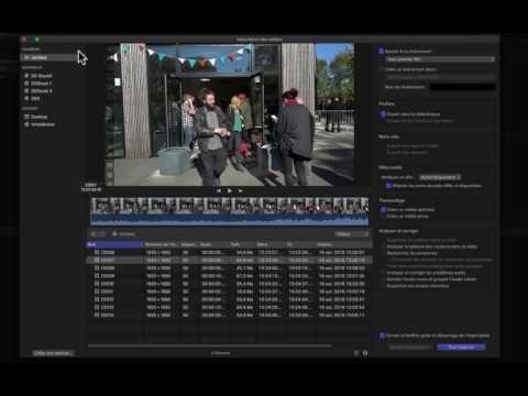 FCPX 10 3 #02. Importer des vidéos - YouTube