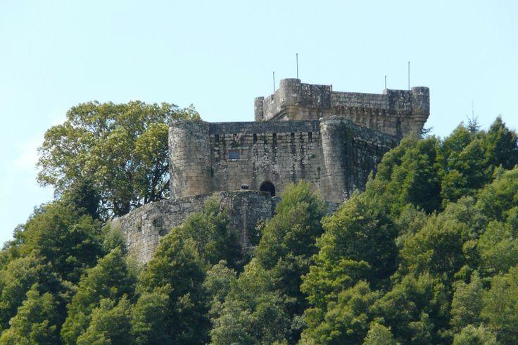 Castillo de Sobroso. Pontevedra Spain.