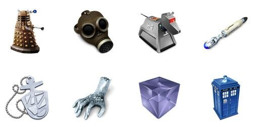 Doctor Who computer - PNG Icons