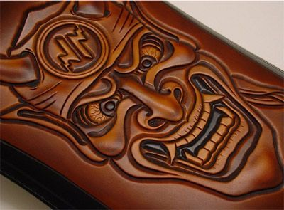 Xian handmade leather chop seats