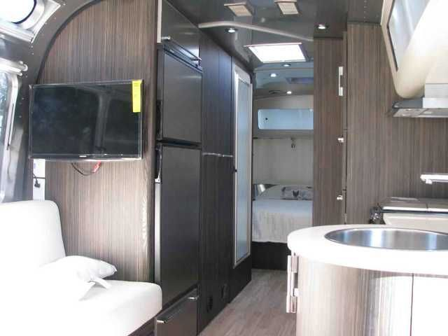 2016 New Airstream 27 FB INTERNATIONAL Travel Trailer in California CA.Recreational Vehicle, rv, 2016 Airstream 27 FB INTERNATIONAL 877-485-0190 CALL DAVID MORSE 4 BEST PRICE, 877-485-0190 CALL DAVID MORSE 4 BEST PRICE,FULL AWNINGS, LEATHER INTERIOR,1000 WATT INVERTER,2 FLATSCREEN TVS BLUE RAY DVD,AMFMCD,FRONT QUEEN BED,REAR DINETTE,PANORAMIC FRONT AND REAR WINDOWS,SIDE SOFA,MICROWAVE AND REGULAR OVEN,2 FANTASTIC FANS,SOLAR ROCK GUARD,STAINLESS WRAP PROTECTIONS,ALUM WHEELS.
