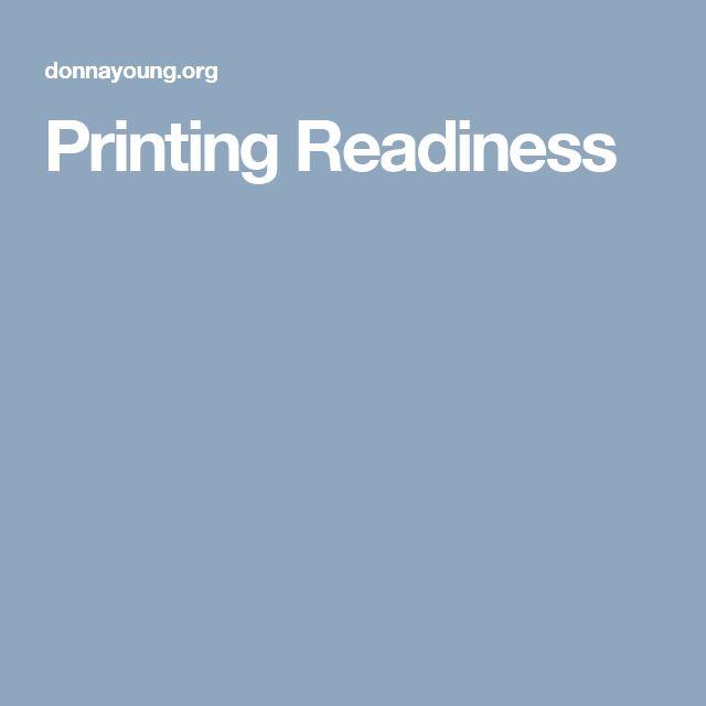 Printing Readiness