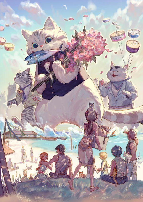 Giant cats, 유노, Digital